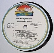 LP - The Mills Brothers & Louis Armstrong - The Mills Brothers & Louis Armstrong