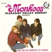 7'' - The Monkees - Pleasant Valley Sunday / Words