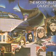 Double LP - The Moody Blues - Caught Live +5