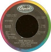 7'' - The Motels - Shame