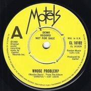7'' - The Motels - Whose Problem?