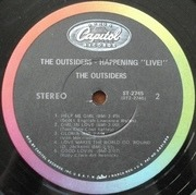 LP - The Outsiders - Happening 'Live!'