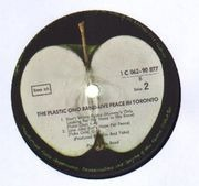 LP - The Plastic Ono Band - Live Peace In Toronto 1969
