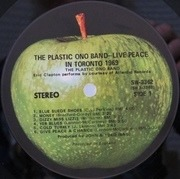 LP - The Plastic Ono Band - Live Peace In Toronto 1969 - still sealed