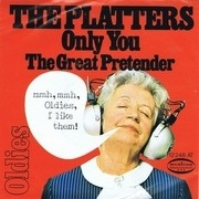 7'' - The Platters - Only You / The Great Pretender