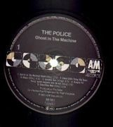 LP - The Police - Ghost In The Machine - black labels
