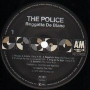 LP - The Police - Reggatta De Blanc