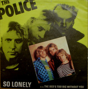7'' - The Police - So Lonely