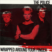 7'' - The Police - Wrapped Around Your Finger