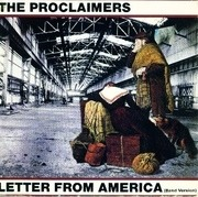 7'' - The Proclaimers - Letter From America (Band Version)