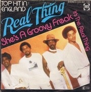 7'' - The Real Thing - She's A Groovy Freak