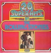 LP - The Rolling Stones - 20 Super Hits By The Rolling Stones