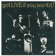 7'' - The Rolling Stones - Got Live If You Want It! - picture sleeve