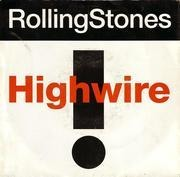 7'' - The Rolling Stones - Highwire (7' version) / 2000 Light Years From Home (live) - picture sleeve