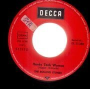 7'' - The Rolling Stones - Honky Tonk Women / You Can't Always Get What You Want - picture sleeve