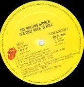 LP - The Rolling Stones - It's Only Rock 'N Roll