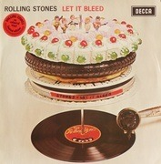 LP - The Rolling Stones - Let It Bleed - Red Vinyl