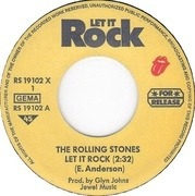 7'' - The Rolling Stones - Let It Rock / Blow With Ry