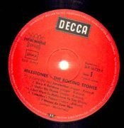 LP - The Rolling Stones - Milestones