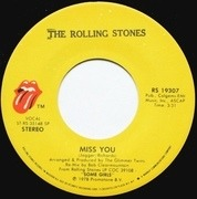7'' - The Rolling Stones - Miss You / Far Away Eyes - picture sleeve