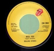 7'' - The Rolling Stones - Miss You / Far Away Eyes