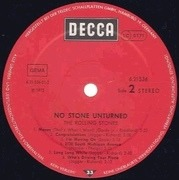 LP - The Rolling Stones - No Stone Unturned