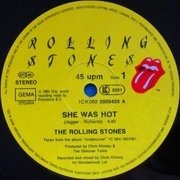 12'' - The Rolling Stones - She Was Hot