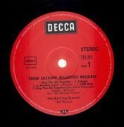 LP - The Rolling Stones - Their Satanic Majesties Request