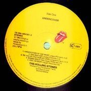 LP - The Rolling Stones - Undercover