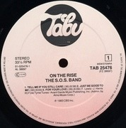 LP - The S.O.S. Band - On The Rise