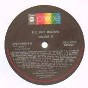 LP - The Soft Machine - Volume Two - Original US