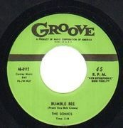 7'' - The Sonics - Bumble Bee / As I Live On