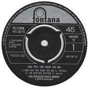 7'' - The Spencer Davis Group - You Put The Hurt On Me EP