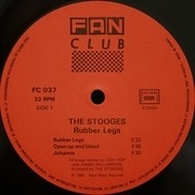 LP - The Stooges - Rubber Legs - + 7inch