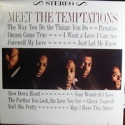 LP - The Temptations - Meet The Temptations