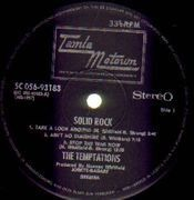 LP - The Temptations - Solid Rock
