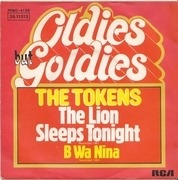 7'' - The Tokens - The Lion Sleeps Tonight / B Wa Nina