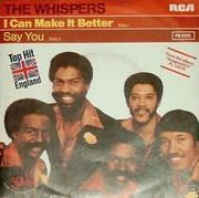 7'' - The Whispers - I Can Make It Better