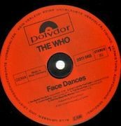 LP - The Who - Face Dances