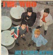 LP - The Who - My Generation - White label Mono