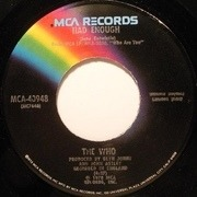 7'' - The Who - Who Are You