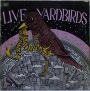 LP - The Yardbirds - Live Yardbirds (Featuring Jimmy Page) - YELLOW EPIC ORIGINAL US
