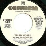 7inch Vinyl Single - Third World - Sense Of Purpose