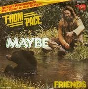 7'' - Thom Pace - Maybe