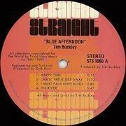 LP - Tim Buckley - Blue Afternoon