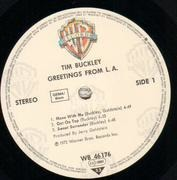 LP - Tim Buckley - Greetings From L.A.