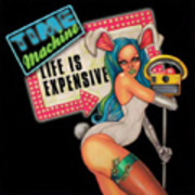 CD - Time Machine - Life Is Expensive