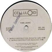 12inch Vinyl Single - Time Zone Featuring John Lydon And Afrika Bambaataa - World Destruction (Meltdown Remix)