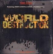 12inch Vinyl Single - Time Zone - World Destruction