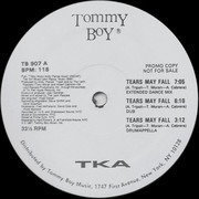 12inch Vinyl Single - Tka - Tears May Fall